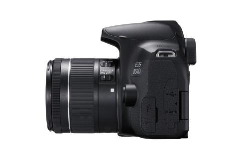 Canon EOS 850D  EF-S18-55mm F4-5 BK LEFT SIDE