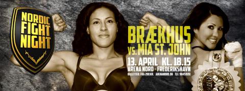 Tre nordmenn i Nordic Fight Night på lørdag: Her er tidspunktene