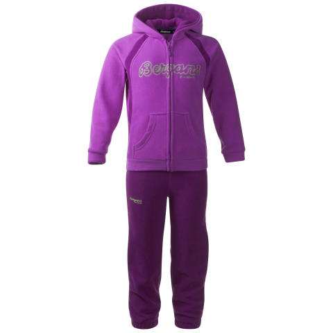 Smådøl Kids Set - Heather Purple/Dark Heather