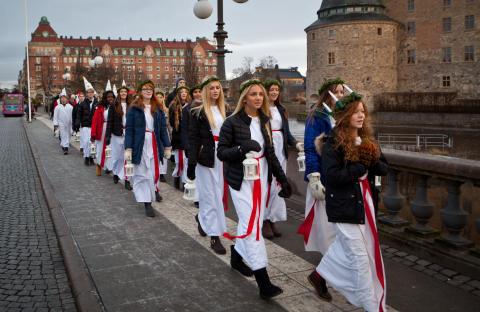 Luciahelg i Årets Stadskärna Örebro!