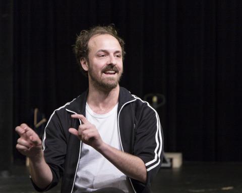 Dramatiker Kristian Hallberg