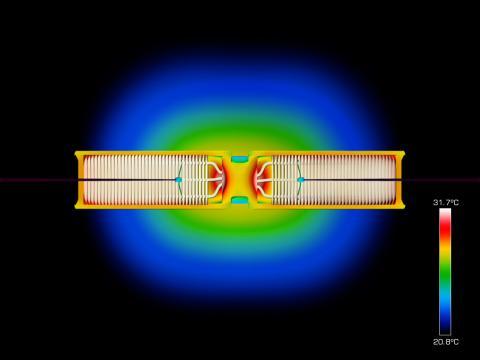 Cu-Beam™ suspended lights - Lyser i mer än 37 år. Bild 3.