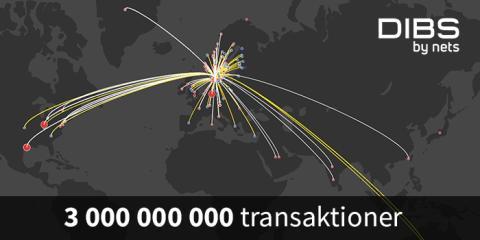 E-handeln växer så det knakar − tre miljarder transaktioner i Norden för DIBS