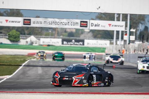 Stærk start for Audi og Nicolaj Møller Madsen i Europas største GT3-serie