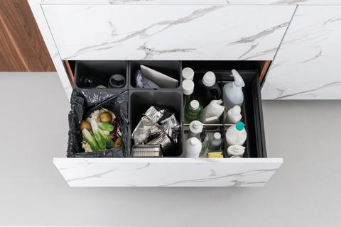 Schmidt marmor kjøkken hylde