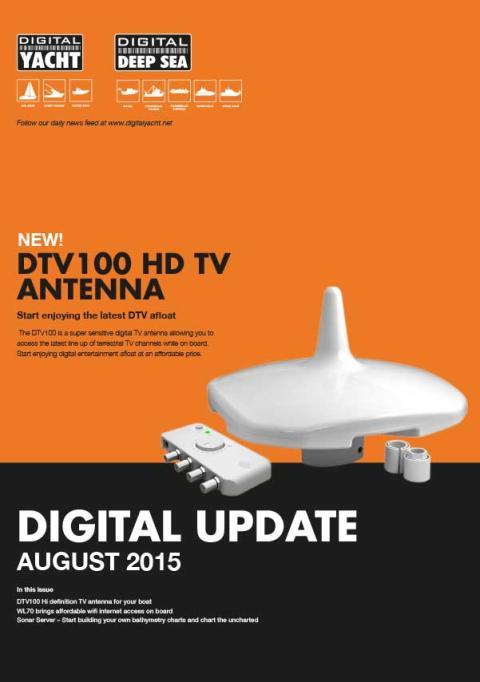 Digital Yacht - Newsletter Août 2015