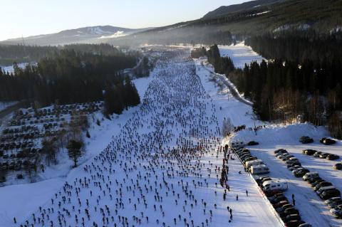 Sändningstider för Vasaloppets vintervecka 2016