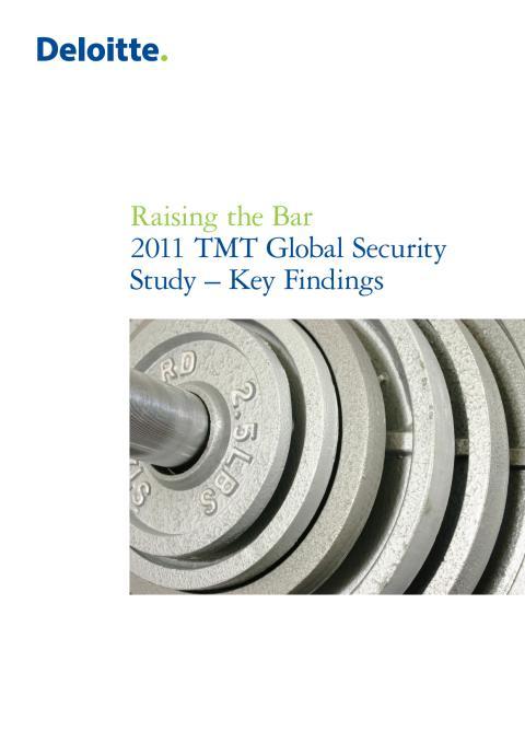 Deloitte TMT Security Survey 2011