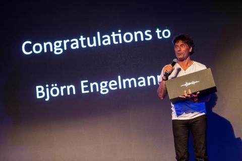 Årets MVP: Björn Engelmann - Denniz Pop Awards 2017