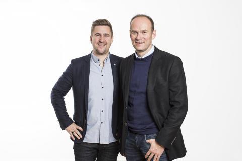 TV3s EM-lag kommentatorer: Daniel Høglund og Geir Oustorp
