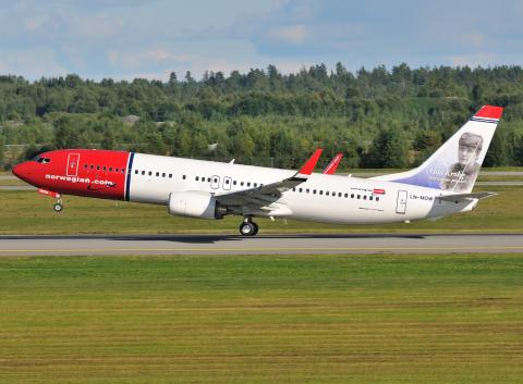 Norwegian-flyet LN-NOW