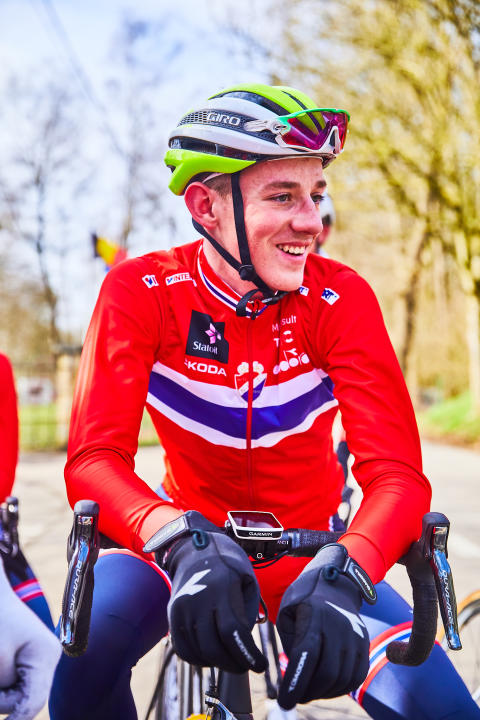 Marcus Korsnes under Gent-Wevelgem 2018