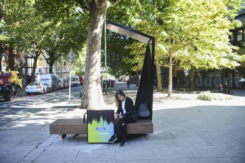 Smarte Sitzbänke