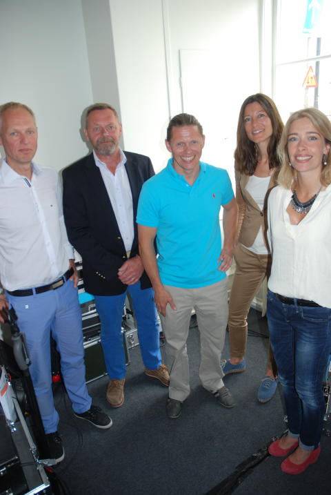 """Paneldeltagarna i Entreprenörföretagens seminarium under Almedalsveckan """"Individuell lönesättning ger ökad lönsamhet!"""""""
