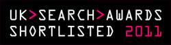 Getupdateds dotterbolag Just Search UK är nominerade till UK Search Awards 2011