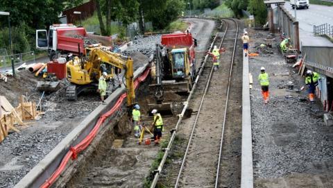 Lambertseterbanen delåpnes 8. juli fram til Karlsrud stasjon