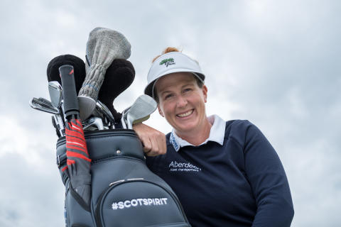 LPGA rookie golf star has #ScotSpirit