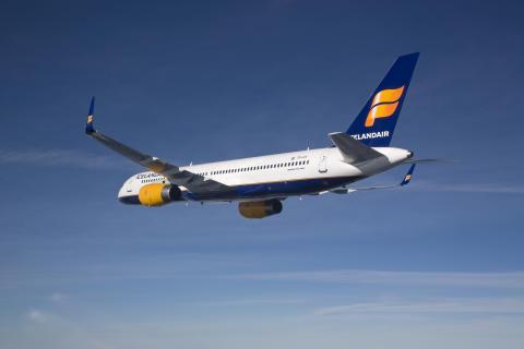 Icelandair med luft under vingene: 18% økning i antall passasjerer under årets første fem måneder.