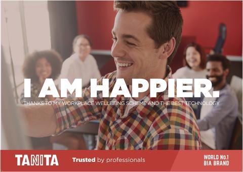 TANITA I Am Happier Poster