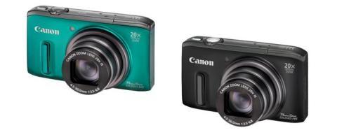 Gjenopplev øyeblikkene med avanserte og allsidige Canon PowerShot SX260 HS og PowerShot SX240 HS