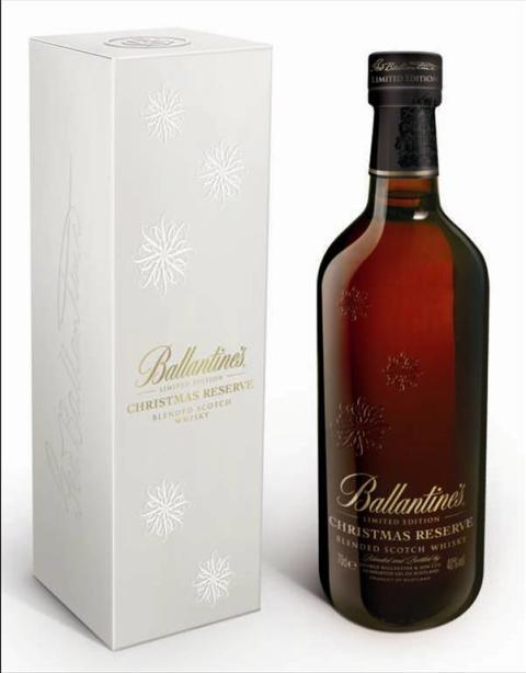 Ballantine's Christmas Reserve i Systembolagets ordinarie sortiment 1 november