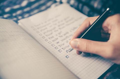 Checklista inför högskoleprovet