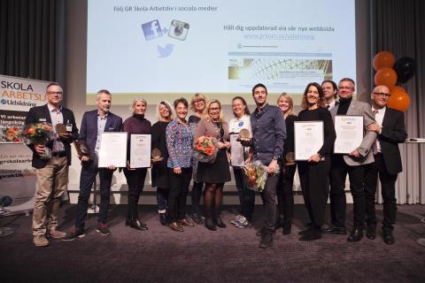 Vinnarna av Utmärkelsen 2017 är korade