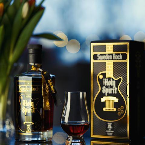The Holy Spirit of Sweden Rock Solera 15 XO Premium Rhum får fast listning på Systembolaget!