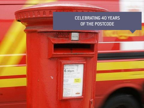 Celebrating 40 years of the Postcode