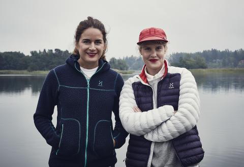 Erica Wigge och Malin Runefelt