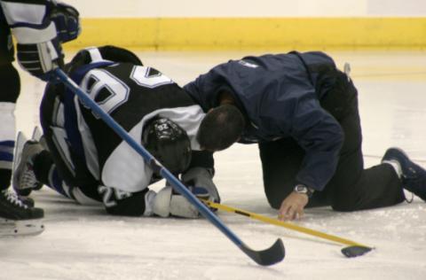 Kraftig ökning av antalet hjärnskakningar bland elitishockeyspelare