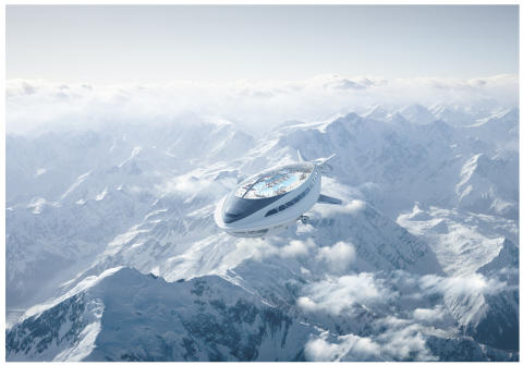 Air cruiseship concept - Photo copyright: Dassault Systèmes