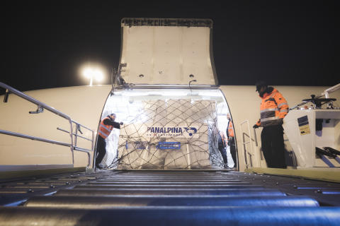 Panalpina donates UNICEF relief flight