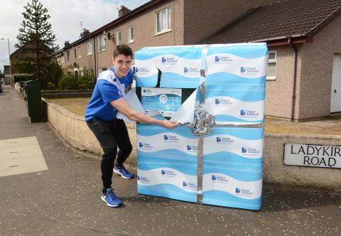 Superfast Fraser helps Prestwick get set for fibre broadband