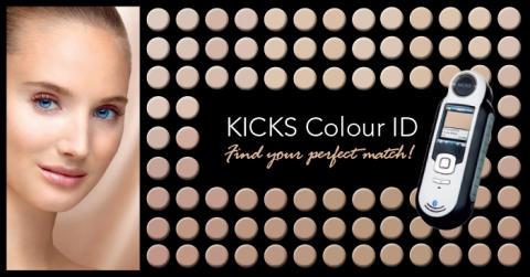 Aldrig mer fel nyans av foundation med KICKS Colour ID!