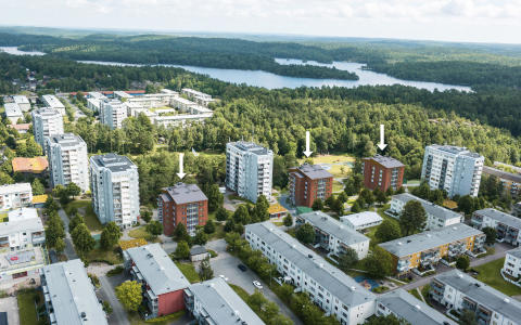 66 nya bostadsrättslägenheter i Övre Lövgärdet