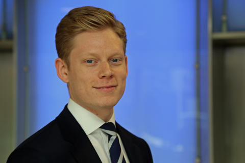 Sam Huggett, key account developer