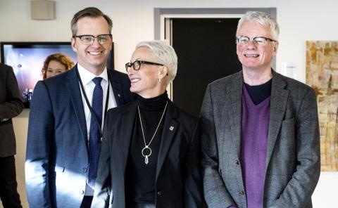 Närings- och innovationsministern besökte RISE i Borås