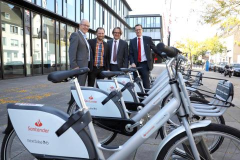 Eröffnung Santander nextbike