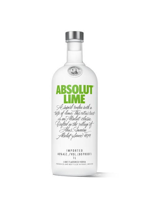 Absolut Lime 1L White Lowres