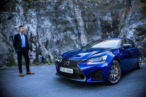 En riktig bilentusiast tar över Lexus i Sverige