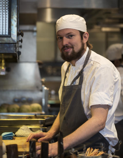 Ian Doyle, Head chef at Oaxen Krog