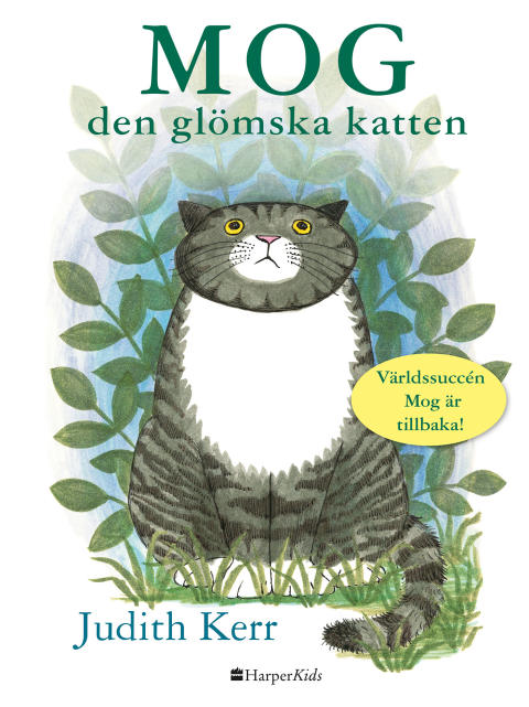 Världssuccén Mog blir HarperCollins Nordics första barnbok