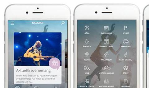 Pressinbjudan: Världspremiär för Kalmar-app