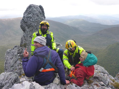 Hi-res image - ACR Electronics - climber Ed Bastick