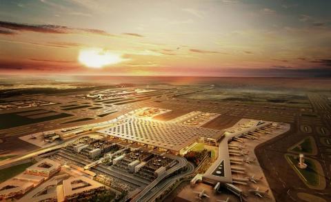 Turkish Airlines påbörjar en ny resa från Istanbul New Airport