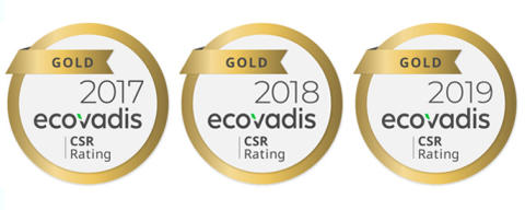 STANLEY Security tilldelas guldmedalj för sitt CSR-arbete