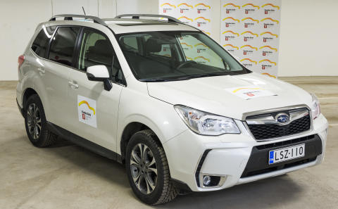 Subaru Forester är Årets Suv 2014 i Finland