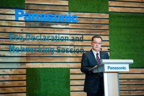 Panasonic Asia Pacific Managing Director Junichiro Kitagawa Gives Speech