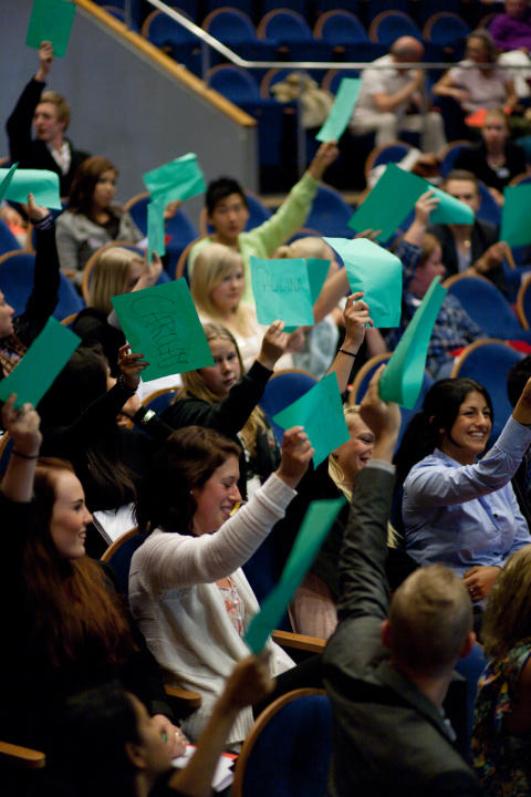 Skolverket uppmärksammar Värmdö ungdomsparlament